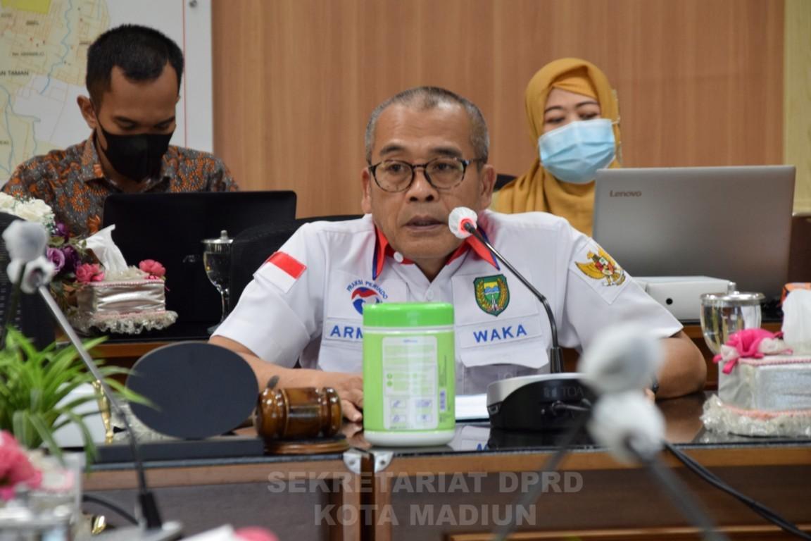 Rapat Internal Badan Anggaran LPJ  APBD Pemerintah kota Madiun TA 2020