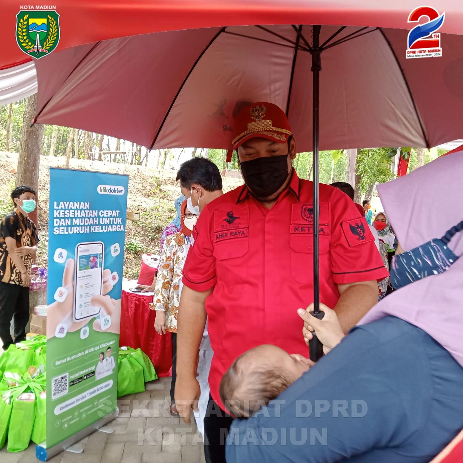 Pimpinan DPRD Kota Madiun Tinjau Pilot Project Program Penurunan Stunting